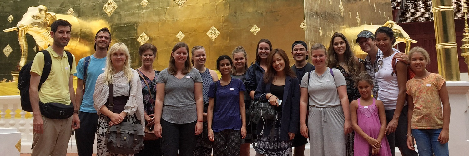 Volunteer Group 203 Chiang Mai Thailand