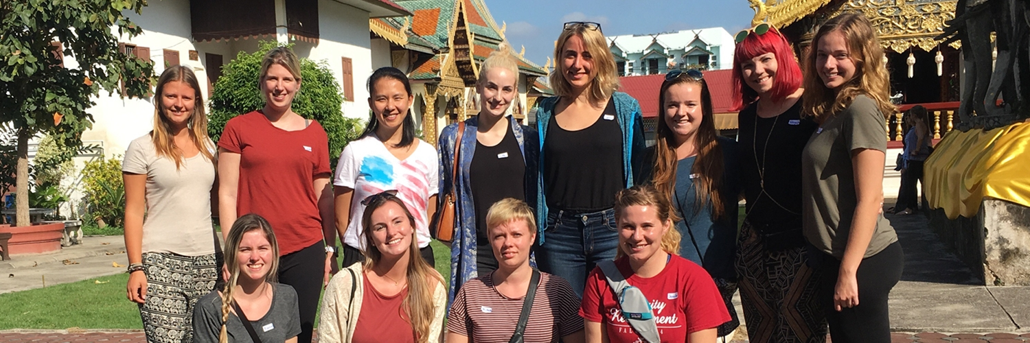 Volunteer Group 213 Chiang Mai Thailand