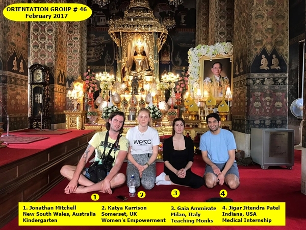 Bangkok volunteer group 46