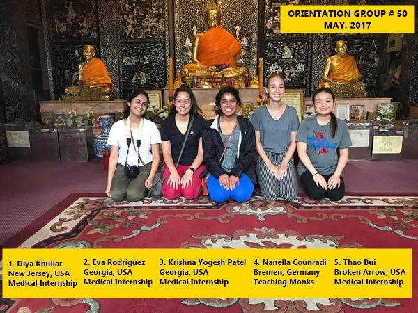 Bangkok volunteer group 50