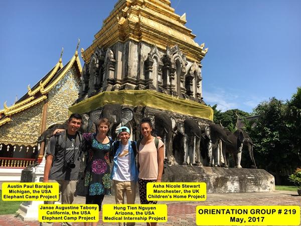 Chiang Mai Thailand Volunteer Group 219
