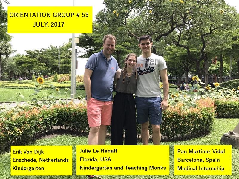 Volunteer Bangkok Group 53