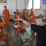Teaching English to Novice Monks