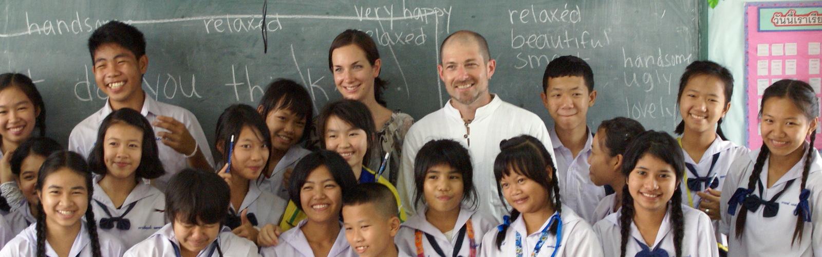 English Education Volunteer | Volunteer Thailand