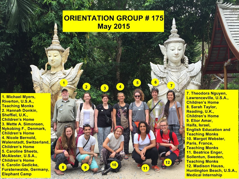 Chiang Mai Volunteer Group 175