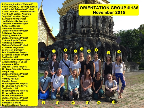 Thailand Volunteer Chiang Mai Group 186