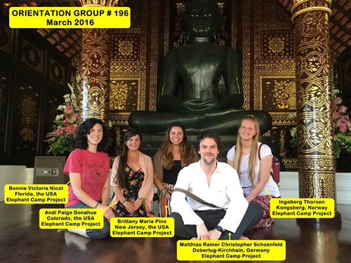 Chiang Mai Thailand Volunteer Group 196
