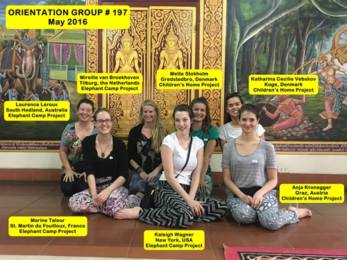 Chiang Mai Thailand Volunteer Group 197