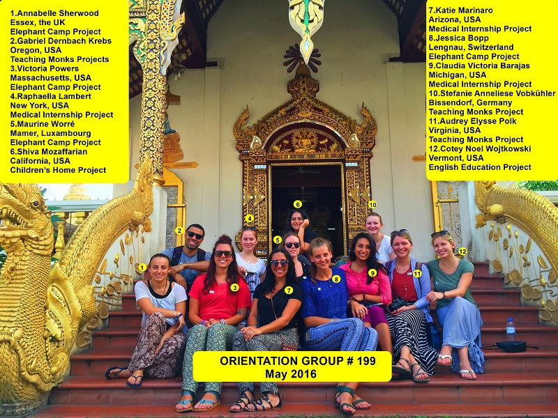 Chiang Mai Thailand Volunteer Group 199