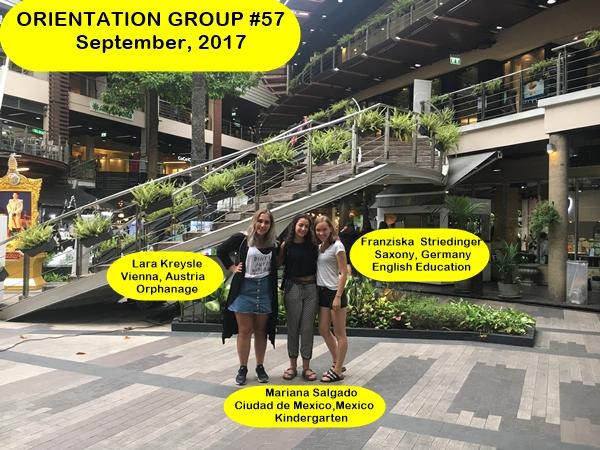 Volunteer Group #57 Bangkok Thailand