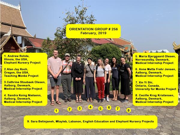 Chiang Mai Volunteer Group #256
